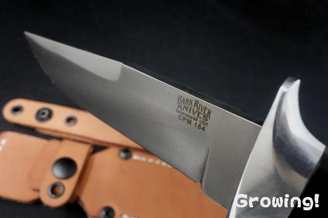 Bark River Chute Knife CPM-154