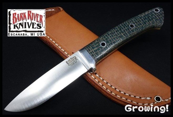 BARKRIVER Classic Drop Point Hunter 3V