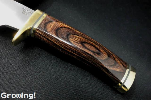 Buck Zipper Guthook Wood