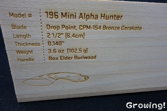 Buck Mini Alpha Hunter