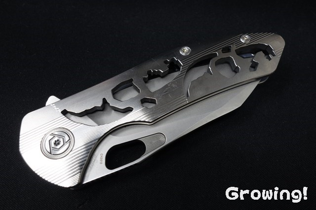 CH Knives 3515 Iconic Hollow Out Steel Blade