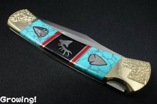 BUCKナイフ #110 フォールディングハンター