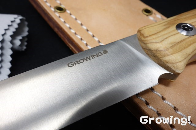 GROWING【グローイング】 「ブッシュクラフト」