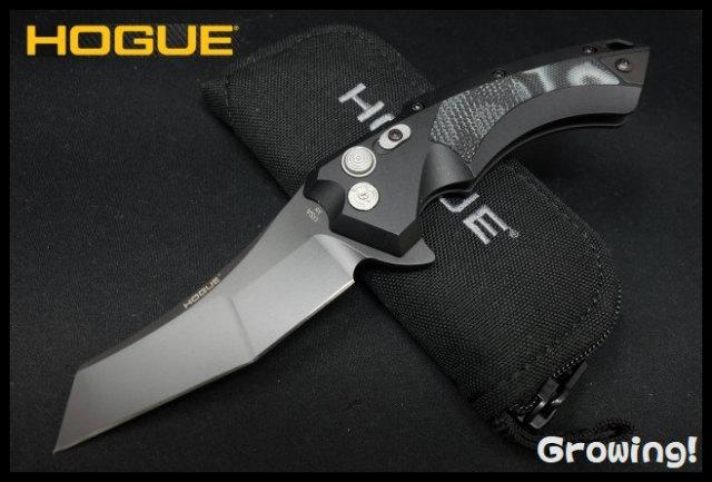 HOGUE X5 Button Lock Wharncliffe