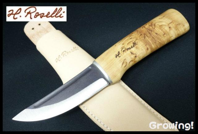 H.Roselli  ハンターナイフ R100