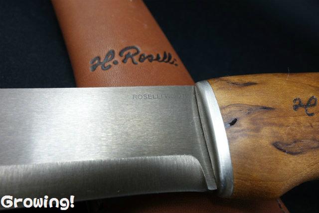 H.Roselli  UHC ハンティングナイフ RW200L