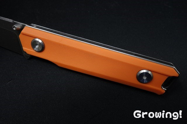 Stedemon BP02 Linerlock Orange SW